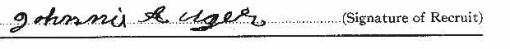 John Auger signature