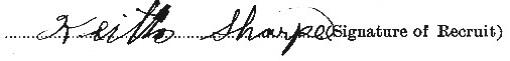 Keith Sharpe signature