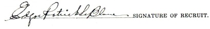 Edgar Patrick Le Blanc signature