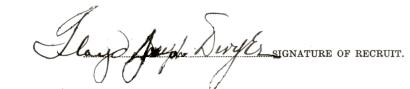 Floyd Joseph Dwyer signature