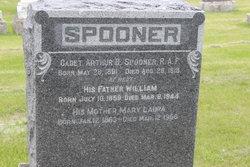 Arthur Spooner's headstone