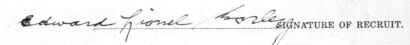 Edward Lionel Morley signature