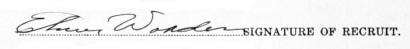 Elmer Worden signature