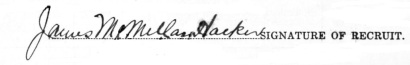 James McMillan Hacker signature