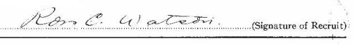 Ross Cameron Watson signature