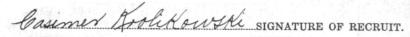 Casimer Krolikowski signature