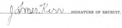 David James Kerr signature