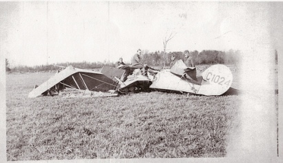 Aircraft in which James Davidson Stephen was killed