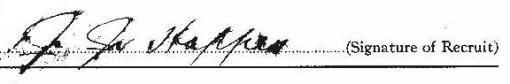 John James Hoppes signature