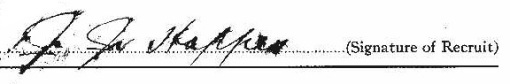 John James Hoppes signature