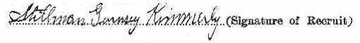 Stillman Gurnsey Kimmerly signature