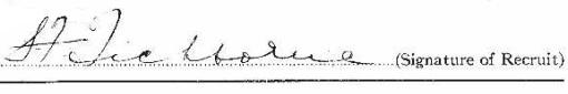 Sydney Frederick Tichborne signature