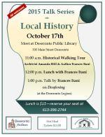 History Talk poster
