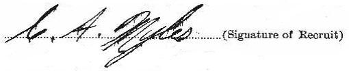 Clifford Allan Myles signature