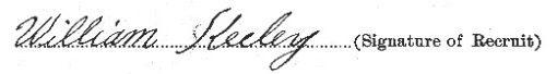 William Keeley signature