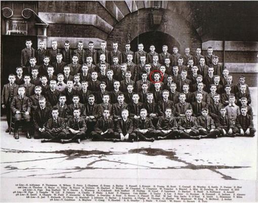1906 Fegan Boys (highlighting Alfred Sidney Lee)