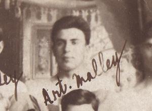 Arthur Lionel Malley in 1914