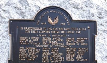 Deseronto memorial