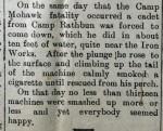 1917 Sep 20 Deseronto Post report of water landing