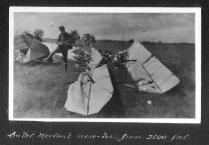 George Anderson Morton's crash