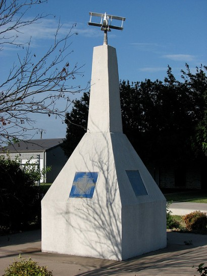 Vernon Castle Memorial in Benbrook, Texas
