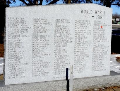 Belleville War Memorial
